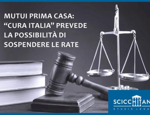 """Mutui prima casa: il Decreto """"Cura Italia"""" prevede la possibilità di sospendere le rate"""