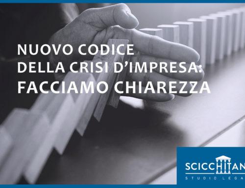 Pt. 4 Nuovo Codice della Crisi d'Impresa: facciamo chiarezza
